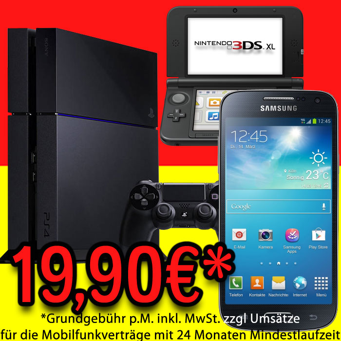 PlayStation-4-PS4-Nintendo-3DS-XL-Konsole-Handy-SAMSUNG-Galaxy-S4-Mini-LYD