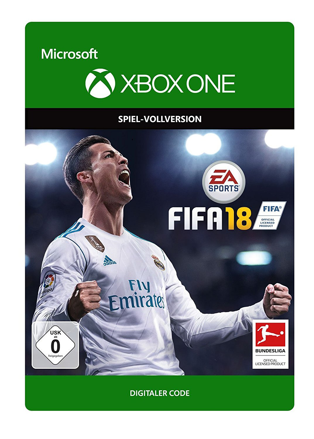 ea sports fifa 18 fu ball spiel f r microsoft xbox one. Black Bedroom Furniture Sets. Home Design Ideas